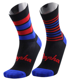 Wholesale Socks For Hiking - RAPHA New Men Women Cycling Socks High Elasticity Soft mtb bicycle Sports Socks Deodorization Breathable For compression socks Dce20