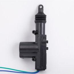 Fechaduras de porta de entrada remotas on-line-Auto travamento resistente do fio 12V do motor 2 do atuador do travamento da porta do poder do automóvel profissional auto