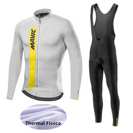 Mavic Cycling Jerseys Cycling Set Winter Thermal Fleece Long Sleeves Racing  MTB Suit Maillot Bike Clothing Ropa Ciclismo Free Shipping 407f20f03