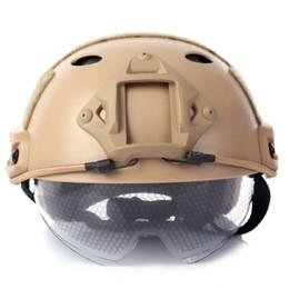 Praktisch Tactical Jagd Outdoor Schutz Getriebe Mh Typ Fast Helm Einfache Armee Helme Fahrrad Radfahren Spiele Helm Arbeitsplatz Sicherheit Liefert