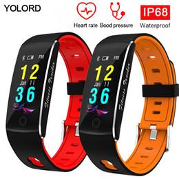 YOLORD Nager Alliage IP68 Professionnel Étanche Surveillance de la Fréquence Cardiaque De La Pression Artérielle Bracelet Courant Bracelet Smart Bracelet SmartBand ? partir de fabricateur
