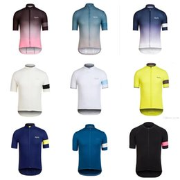 Wholesale Men S Bicycles - HOT Sale ! RAPHA team Cycling Short Sleeves jersey Newest Summer men's bike Shirt Bicycle Clothes High Perfomance ropa ciclismo E0910