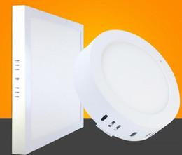 2019 lampes chauffantes de cuisine Spot d'usine CE réglable 9W 15W 21W rond / carré LED surface panneau monté éclairage LED plafonnier 110-240V + pilote