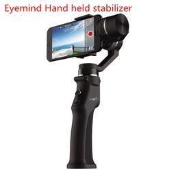 Tremor de telefone on-line-Beyondsky Eyemind estabilizador Eletrônico inteligente de 3 eixos Giroscópio Handheld Gimbal Estabilizador para câmera de telefone celular anti-shake câmera de vídeo