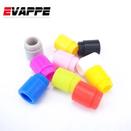 Wholesale Disposable Testing Caps - 810 Silicone Drip Tip Disposable Drip Tip Mouthpiece Cover Rubber Test Caps with individual pack