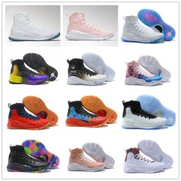 Wholesale birthday man - High quality 4 IV All Star Birthday Doernbecher DB Basketball Shoes for Men 4s Championship White Blue Yellow Training Sports Sneakers 40-46