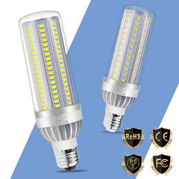poupança de energia do ventilador Desconto E27 Lâmpada LED 25 W 35 W 50 W E26 Lampada LED Lâmpadas De Milho Ventilador de Refrigeração 220 V de Alumínio De Poupança De Energia Luzes No Flicker Iluminação de Casa 5730