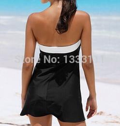 maillot de bain femme 2017 sin tirantes Biquini cubren vestido Beachwear Patchwork pajarita traje de baño que raja las mujeres atractivas traje de baño desde fabricantes