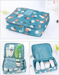 Wholesale Necessaire Makeup - Beautician Vanity Necessaire Trip Women Travel Toiletry Wash Bra Underwear MakeUp Makeup Case Cosmetic Bag Organizer Accessories