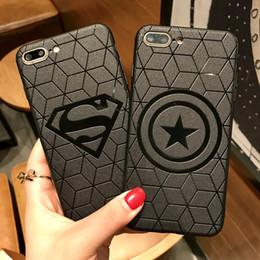 Fundas Coque Case pour iPhone 8 7 6 6S Plus Housse Etui Avengers Ironman Superman Spiderman Captain America pour iphone X ? partir de fabricateur