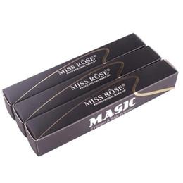 eyeliner stamp UK - Miss Rose Stamp Eyeliner & Seal Pencil Professional Eye Makeup Tool Double Heads Two Heads Eyeliner Pen 240pcs DHL free shipping
