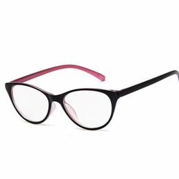 efdfe4a529 Moda Donna Cat Eye Glasses Cornici Cat s Eye Clear Eyeglasses Ladies  Spectacles Frame Retro Occhiali da donna Brand Designer telai per occhiali  da donna ...