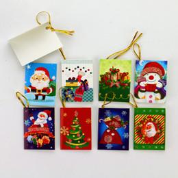 Mini Père Noël Cartoon Carte De Noël Pliant À La Main Cartes De Voeux Cadeau De Noël Cadeau Saint Valentin Carte De Voeux De Nouvel An 64 Styles ? partir de fabricateur