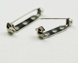 Wholesale Wholesale Safety Pins - 1000pcs 25mm High quality Brooch Locking Bar Pin Back with Safety Latch Clasp Back Pins for Crafts w locking Safety Clas