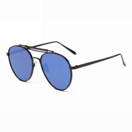 5b626b73b4 Polarized High-Definition Mirrored Lens Metal Framed Pilot HD Sunglasses  Double-Bridge Anti-UV Glasses Eyewear For Men Women
