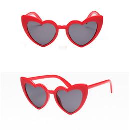 дизайнер в форме сердца солнцезащитные очки Скидка Красные дамы сердце мода Shaped солнцезащитные очки любовь сердце солнцезащитные очки женщины cat eye старинные бренд дизайнер женские оттенки Леди Sunnies
