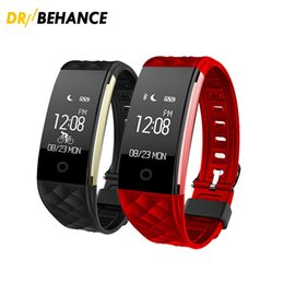 Wholesale Band Steps - 2018 Dynamic Heart Rate S2 Smartband Fitness Tracker Step Counter Smart Watch Band Vibration Wristband for ios android