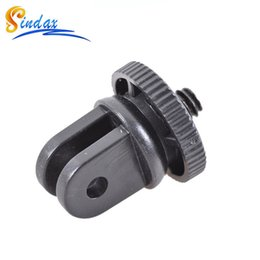 Wholesale Mini Dvr For Car - DVR car suction cup adapter Mini Tripod Monopod Mount Adapter for Car suction cup Adapter Black For Gopro Xiaomi yi sj7000
