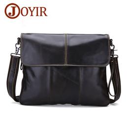 Wholesale Cross Leather Case - Men's genuine leather briefcase casual single shoulder business bag brief case handbag men high-capacity Laptop bag cross