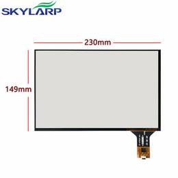 """Wholesale handwritten screen - skylarpu 10.1""""inch 4 wire Touchscreen 230mm*149mm Capacitive Touch Screen panel Glass Car navigation Digitizer handwritten"""
