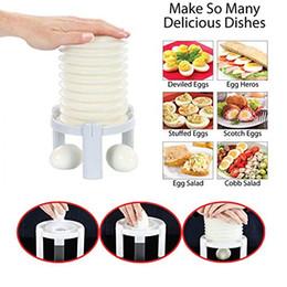 Cascas de ovo on-line-Egg Stractor Remover Peeler Hard-Boiled Ovo Shell Ferramentas Magia Eggshell Incrível Máquina de Cozinha Ferramentas Casca ovos rapidamente