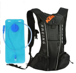 Wholesale Tank Bags Backpack - 2018 NEW KTM Water bag shoulders camelbak for ktm backpack riding package sport outdoor Backpack cycling Outdoor free 2L water bag KOP
