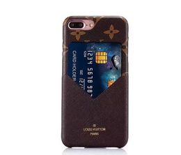 2019 лучший универсальный телефон крепление для автомобиля Модный знаменитый кожаный чехол для мобильного телефона iPhone6 6S 7 7plus для iPhone 8 8plus