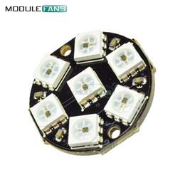 2019 driver di illuminazione led ic 7-Bit 7 Bit LED RGB WS2812 anello LED luce della lampada con i driver integrati per Arduino Protezione all'inversione di polarità IC di controllo driver di illuminazione led ic economici