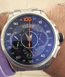 """2019 идеальный сапфир SLS Mercedes Wristwatch man """"Shuocong"""" Watch Luxury waterproof  stopwatch chronograph"""