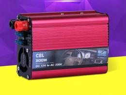 HOT 12 v à 220 v, 300 W onduleur monté sur véhicule onduleur sinusoïdal domestique convertisseur de courant USB chargeur de voiture portable ? partir de fabricateur