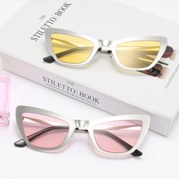 4628353c1aa 2018 katzen augen gläser rahmen Neu eingetroffen Cat Eye Designer  Sonnenbrillen für Frauen Fashion Sun Glasses