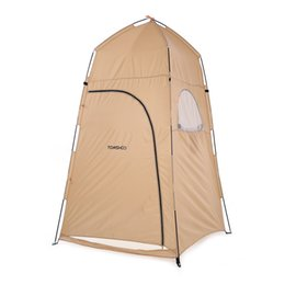 Wholesale Camping Showers - TOMSHOO Portable Outdoor Camping Dressing Changing Tent Toilet Tent Pop Up Bath Shelter Shower for Beach Fishing