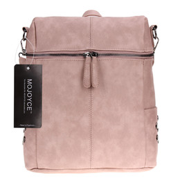 Wholesale Korean Multi Backpack - In the spring of 2017 new Korean fashion sun descended from Song Hye Kyo with rivet shoulder Laptop Backpack