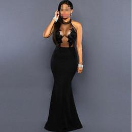 Argentina Envío gratis! Venta caliente falda negro sexy falda larga mujer pijama vestido de fiesta con bordado diseño vestido transparente estilo leeveless Suministro