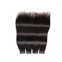 Descuento exclusivo 10-30 Pulgadas Paquetes de cabello recto peruano 100% armadura de cabello humano 6a Extensiones de cabello virgen sin procesar desde fabricantes