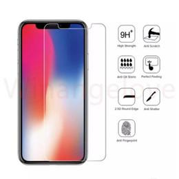 casos 3d para huawei ascender Desconto Vidro temperado 0.3mm 2.5d 9 h para iphone xs xr xs max filme de vidro temperado para iphone7 tela de vidro transparente temperado protetor de tela