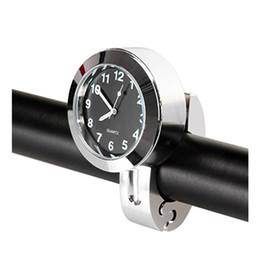 2019 montres à lustre CARGOOL Horloge De Guidon De Moto Imperméable À L'eau De Guidon De Vélo Montre Glow Handlebar Dial Clock montres à lustre pas cher