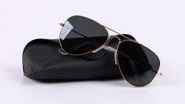 Новый дизайн фабрики онлайн-2018 завод новая мода солнцезащитные очки Мужчины / Женщины ретро uv400 высокое качество черный объектив пилот Марка дизайн dring солнцезащитные очки женский Oculos gafas