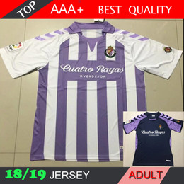 d7cbf3b82c317 camiseta de casa españa Rebajas Real Valladolid 2019 spain LIGA 2018 local visitante  camiseta 18 19