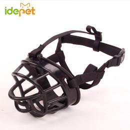 Wholesale Big Bite - High Quality Dog Muzzle Soft Silicone Strong Muzzle Basket Design For Big Dog Anti-biting Adjusting Straps Mask Product 8W20