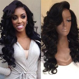 Wholesale Black Women Hair Products - Hot product!!ocessed Brazilian Full Lace Human Hair Wigs Lace Front Wigs Body Wave Virgin Hair with Baby Hair for Black Women