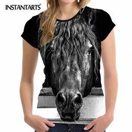 2019 Neuestes Design Frauen Blusen 2017 Sommer Kurzarm Blusa Feminina Hemd Frauen Tops Punk Rock Grafik Gedruckt Oansatz Bluse Shirts Plus Größe Frauen Kleidung & Zubehör
