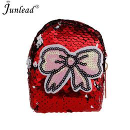 Junlead Sparkly Sequins Female Bowknot Cheap Coin Purse Pocket Change Wallet  For Girl Key Chains Cute Fashion Card Coin Purse df2ecc6bc5cd