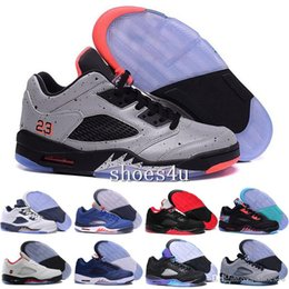 Wholesale best brands basketball shoes - Discount 5 Gold Cheap Best Basketball Shoe Mens Brand New 5s Sneakers Comfortable Running Shoes Men Sports Outdoors Trainers