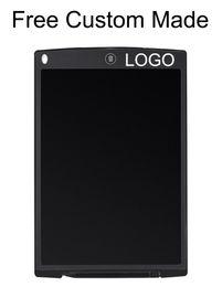 Canada 50pcs 10 pouces librement sur mesure LOGO LCD écriture tablette numérique numérique dessin portable tablette écriture Pads tablette électronique Offre
