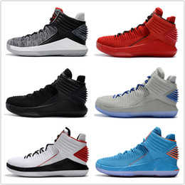 Wholesale Cheap Quality Boots - Cheap 32 XXXII Basketball Shoes 2018 New Men Boots High Quality Black Grey Sneakers Cheap Men's 32 Sports Shoes Free Drop Shipping 40-46