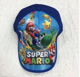 Canada Super Mario Enfants ombre Sun casquette de baseball Casquette de baseball Chapeaux Cadeaux de fête Offre