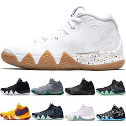 zapatos de mamba negro rojo Rebajas Diseñador Kyrie Irving 4 4s Hombres Zapatillas de baloncesto Tío Drew Triple Negro Oreo 70s 80s 90s Mamba Mentalidad Alfombra roja Sport Sneaker 40-46