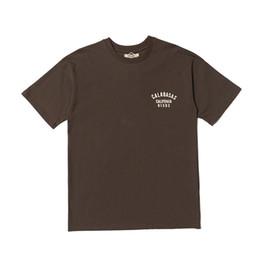 Wholesale Women Oversize T Shirt - 18ss Kanye West Season 5 Calabasas Tee Top Quality Cotton Short Sleeve Breathable Men Women Oversize Casual Outdoor Streetwear T-shirts