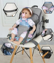 mochila multifuncional bolsos Rebajas Mochila de carga USB Mamá Mochila de alimentación para bebés Bolsa de pañales Mamá Gran Capacidad Bolso multifuncional KKA6046